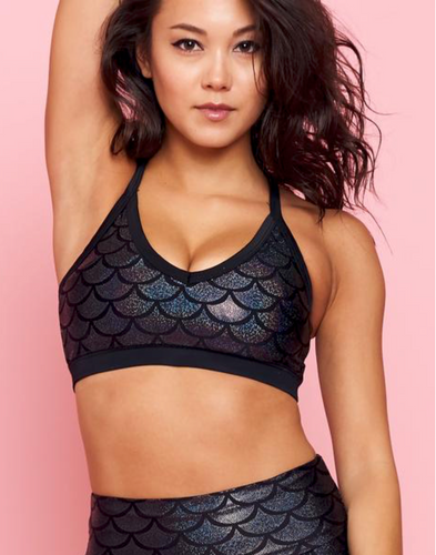 Emily Hsu Onyx Shimmers Bra - East Hills Casuals