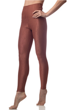 Load image into Gallery viewer, Emily Hsu Jacquard Snake Legging Cinnamon - East Hills Casuals