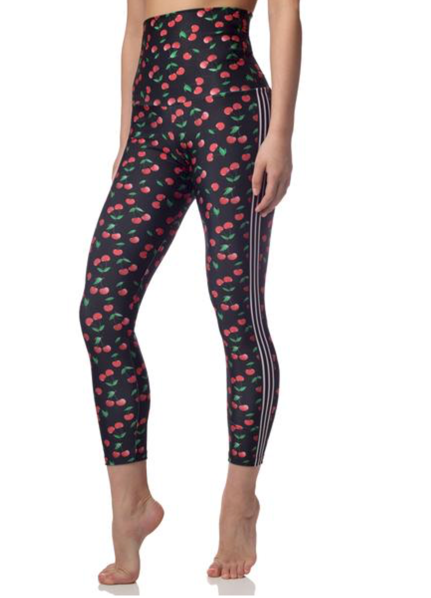 Emily Hsu Cherry 7/8  Legging - East Hills Casuals