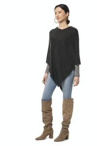 Synergy V-Neck Poncho - East Hills Casuals