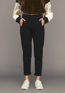 TROUSERS STRETCH - black by BERENIK - East Hills Casuals