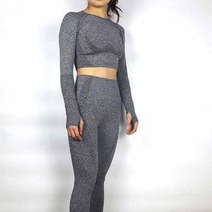 Go For It 2pc/Set (Bottoms & Long Sleeve) by Dolton - East Hills Casuals