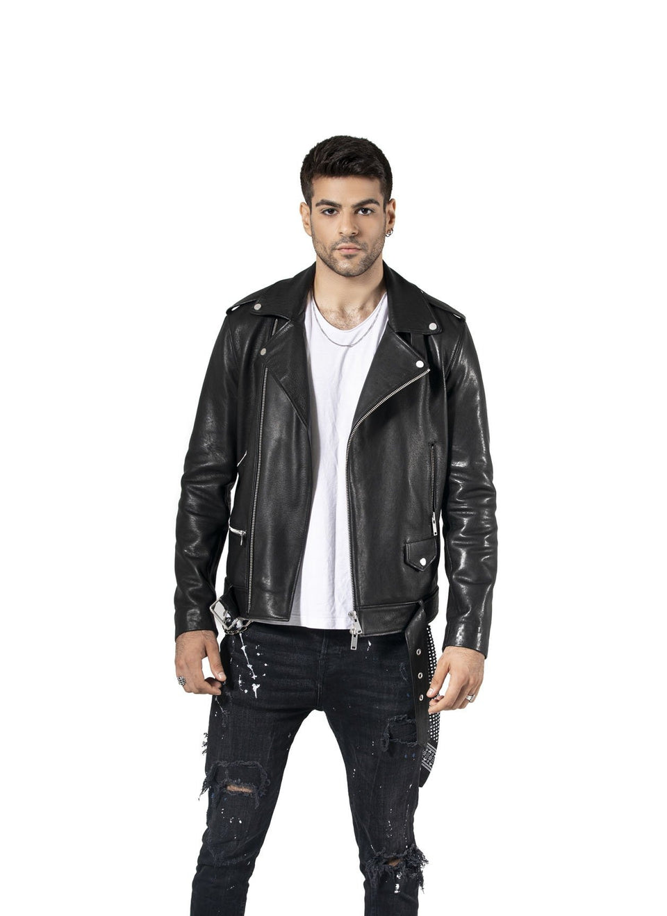 Martin - Men's Genuine Leather Soft Nappa Jacket 2020