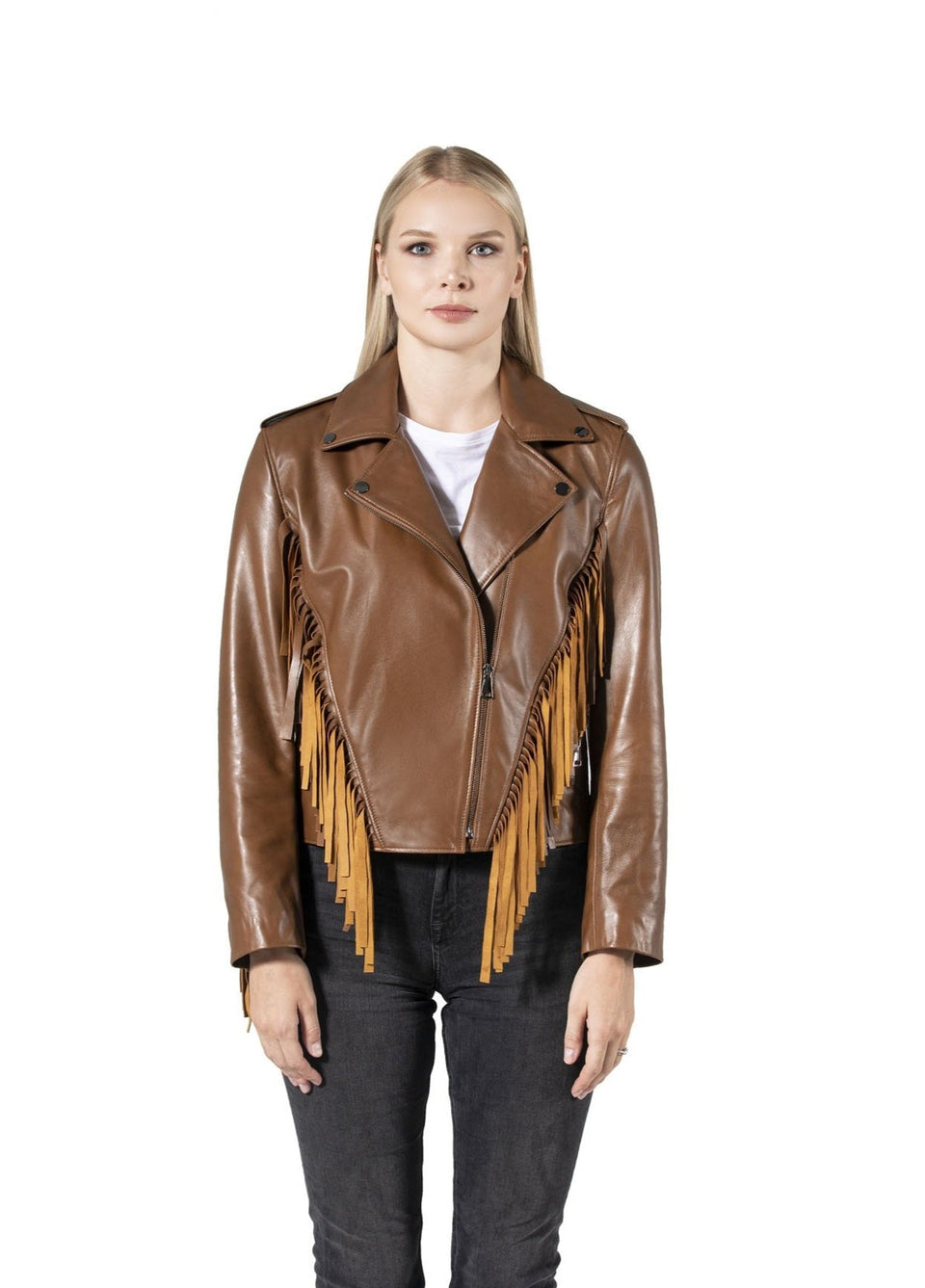 Amber Women's Jacket With Inside Pocket
