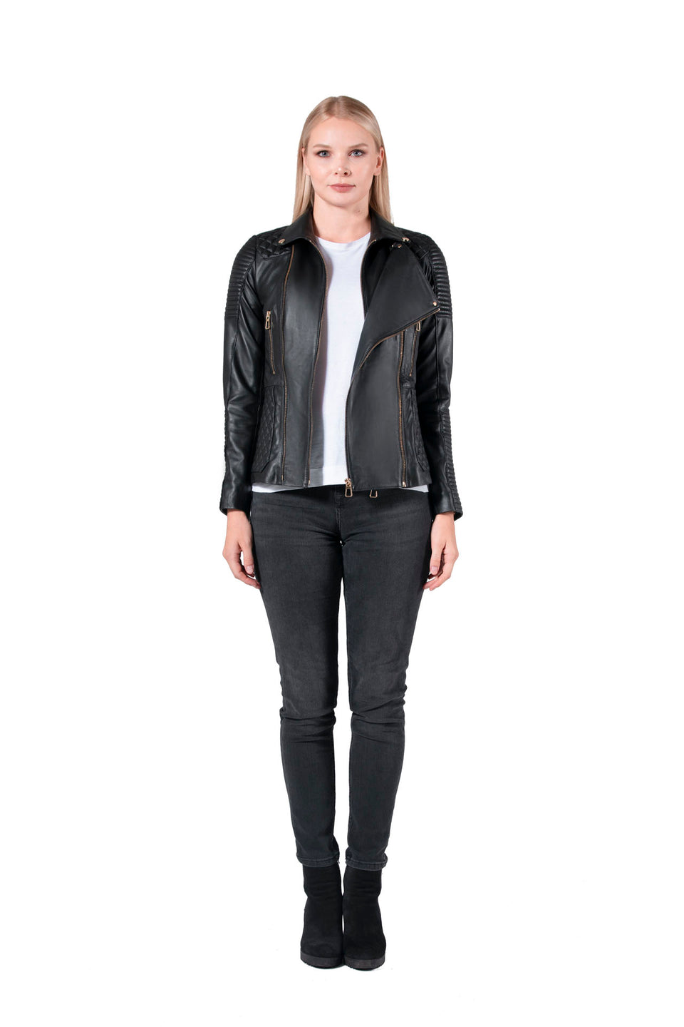 Women's Soft Nappa Leather Jacket