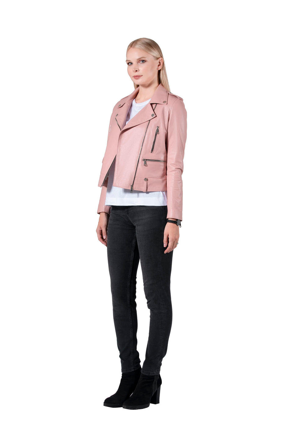 Lara - Women's Soft Nappa Genuine Leather Jacket Online