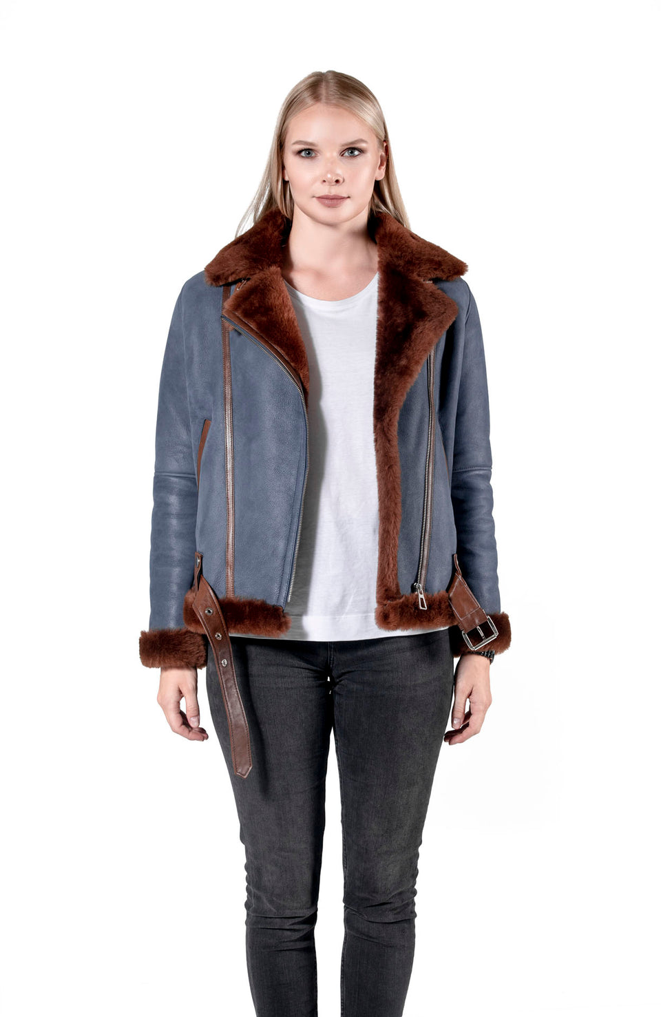 Valencia - Women's Premium Shearling Jacket Fashion 2020