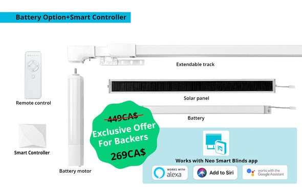 Single Pack (Battery Option+Smart Controller)