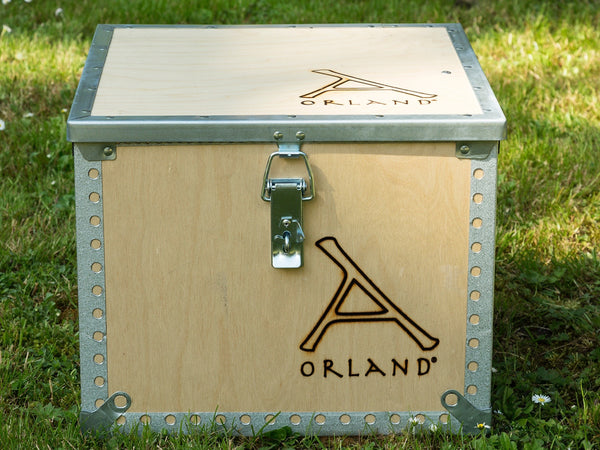 B - Orland Tent Stove with Flue kit