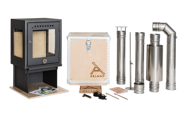 D - Orland Camp Stove with Flue kit