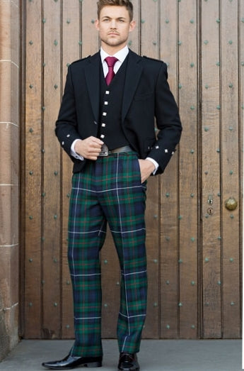 Crail/Argyll Jacket with 5 Button Waistcoat