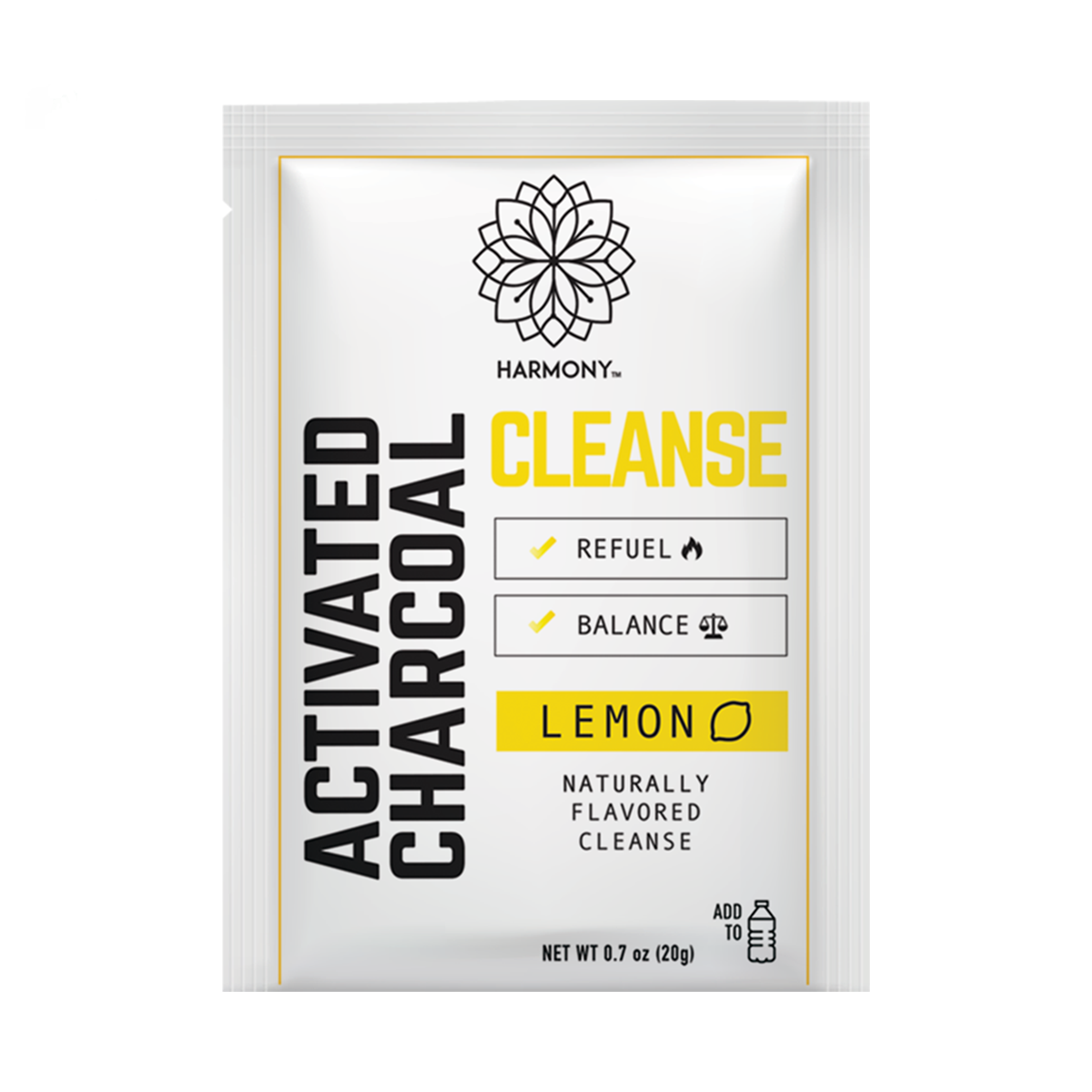 Activated Charcoal Lemon Detox Mix