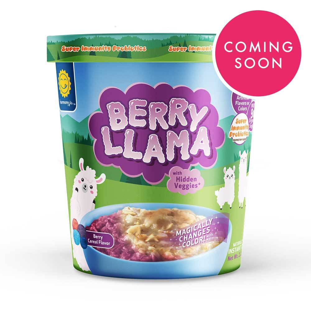Berry Llama Cereal Oatmeal Cup