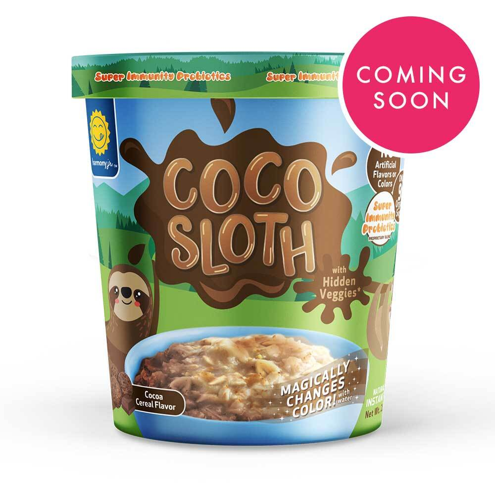 Coco Sloth Cereal Oatmeal Cup