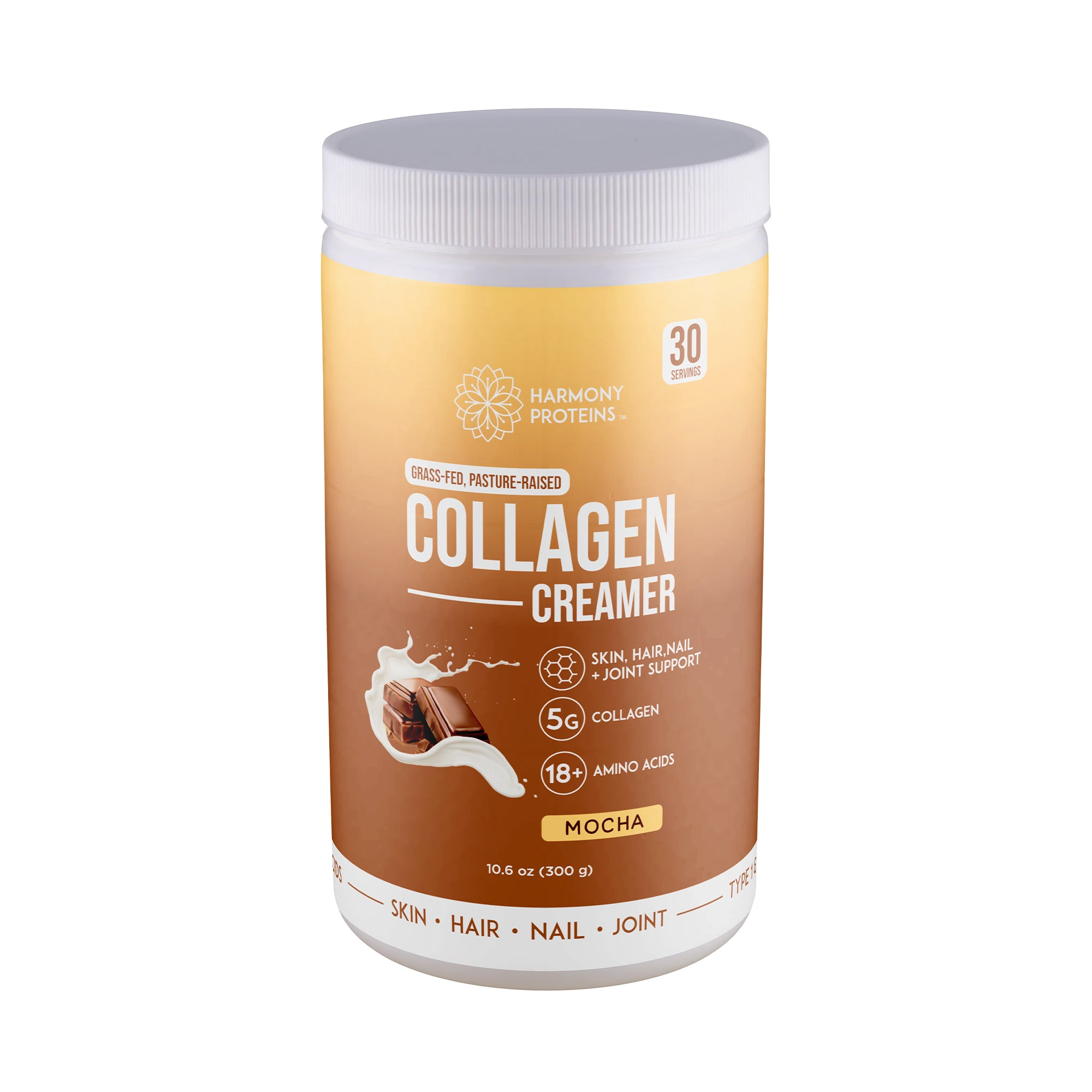 Mocha Grass-Fed Collagen Creamer