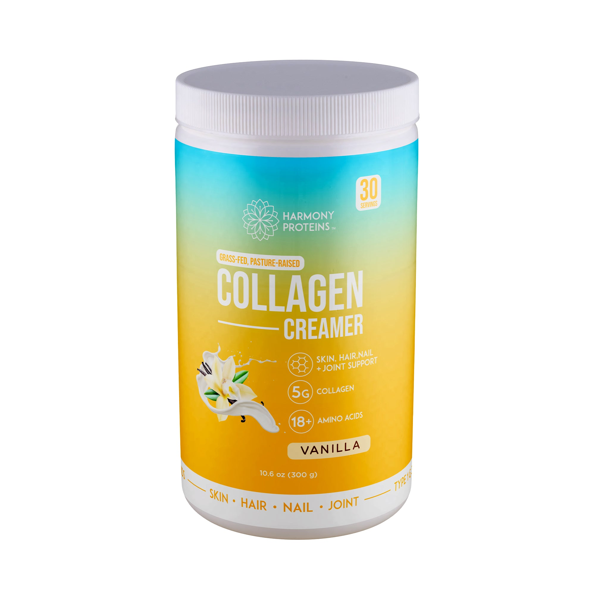 Vanilla Grass-Fed Collagen Creamer