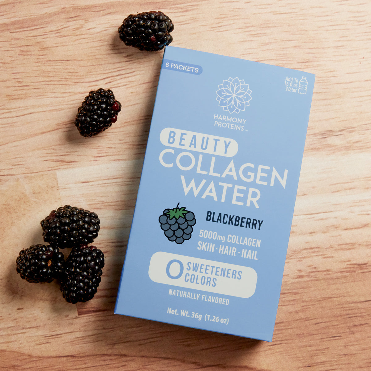 Beauty Collagen Water - Blackberry