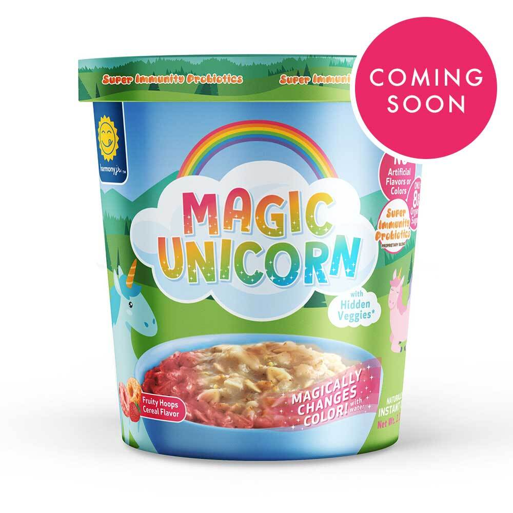Magic Unicorn Cereal Oatmeal Cup