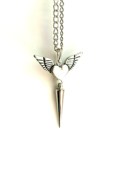 Heart Spike Necklace