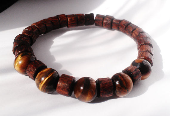 Tigers Eye - Focus Bracelet Mens