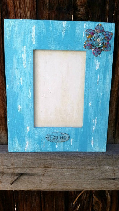 Inspirational Shabby Chic Picture Frame