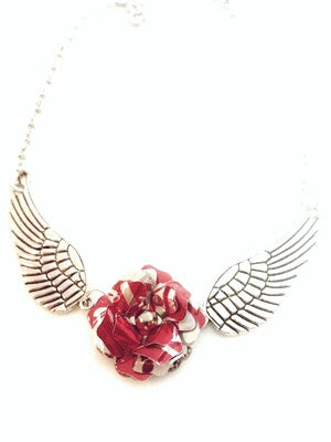 Coca-Cola Wing Necklace