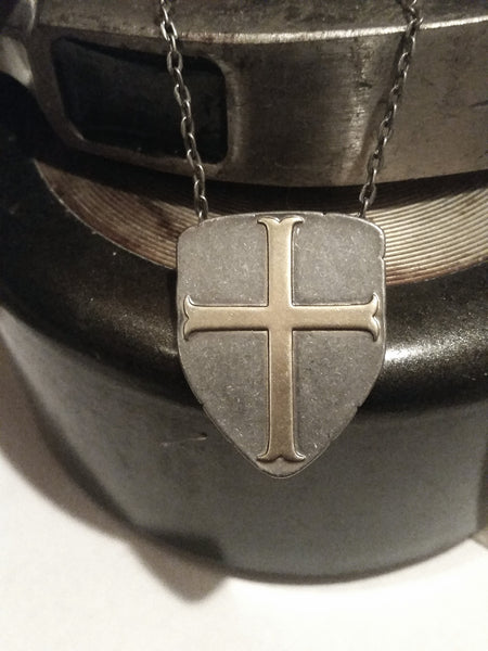 Shield Necklace - Mens Jewelry