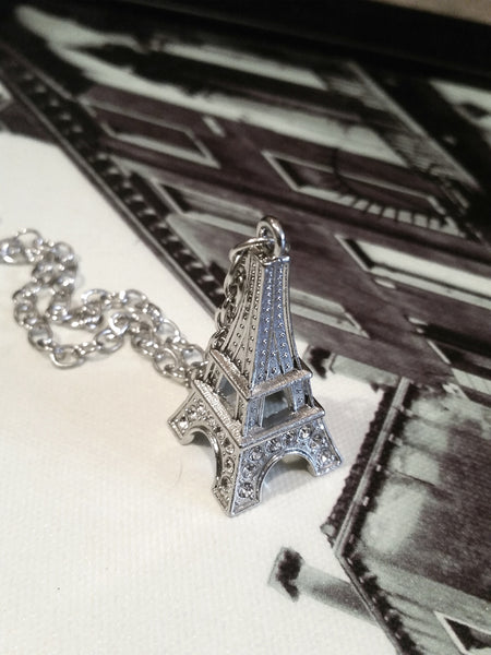 Eiffel Tower Necklace - Paris Travel