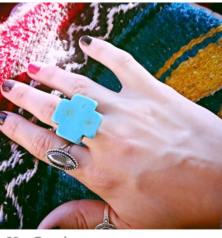 Turquoise Ring - Statement Jewelry