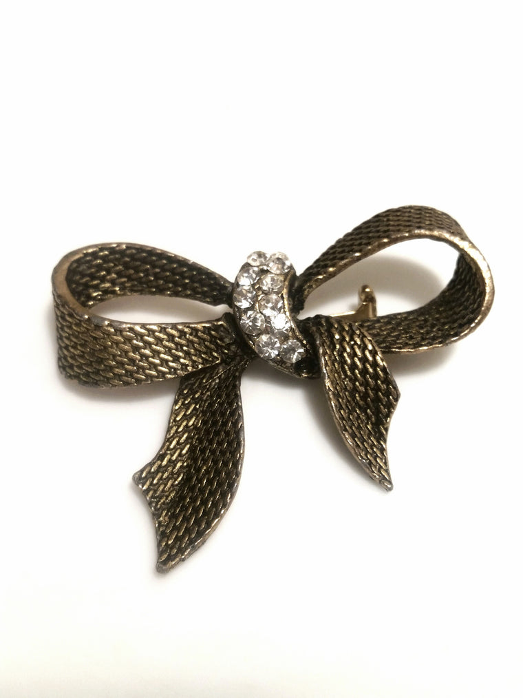 Vintage Brooch - Bow Tie Jewelry for Women