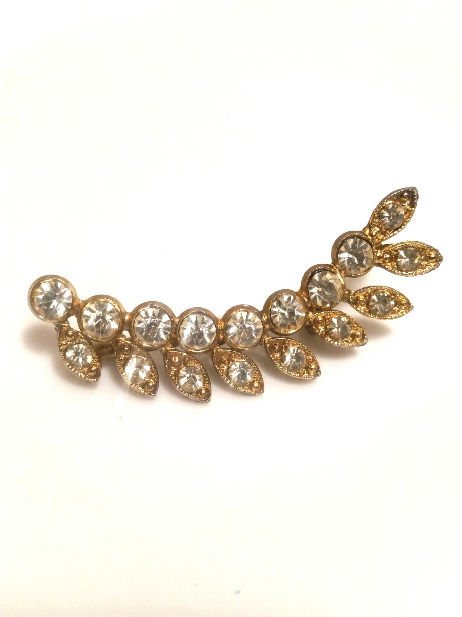 Vintage Brooch - Rhinestone Jewelry for Women