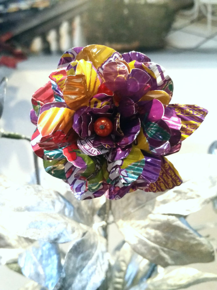 Recycled Can Flowers - 1 or Set Arizona Tea Punch