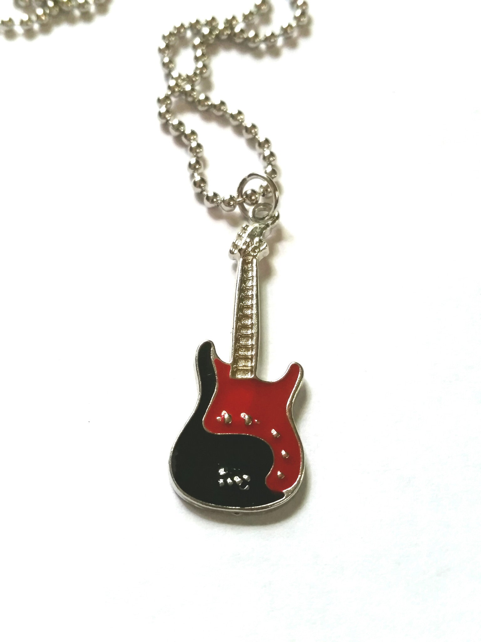 Guitar Necklace - Music Jewelry