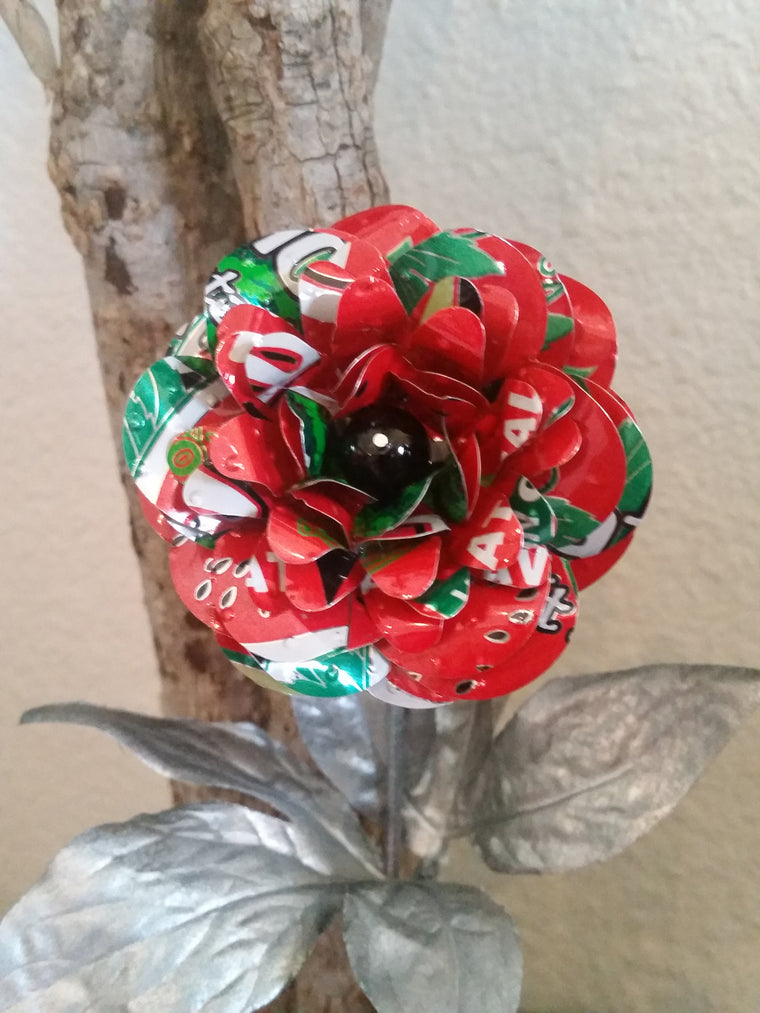 Recycled Can Flowers - 1 or Set Arizona Tea