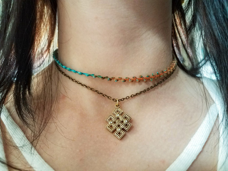 Bohemiam Choker Necklace