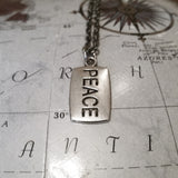 Peace Necklace - Inspirational Jewelry