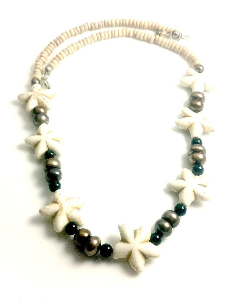 Freshwater Pearl Starfish Necklace