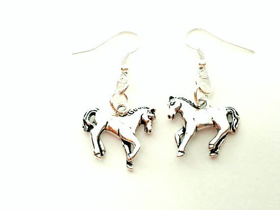Horse Charm Earrings