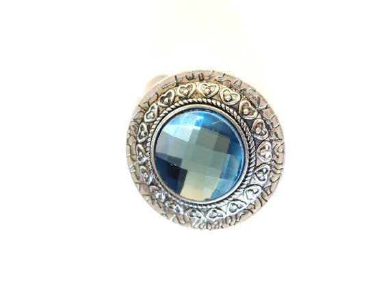 Aquamarine Ring - Statement Jewelry