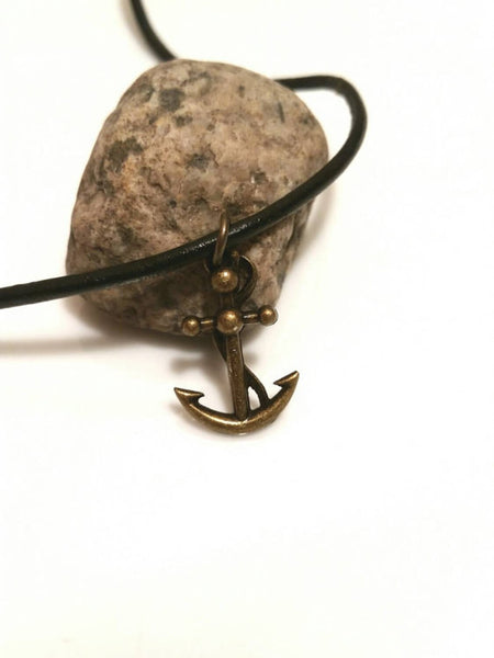 Anchor Necklace - Mens Nautical