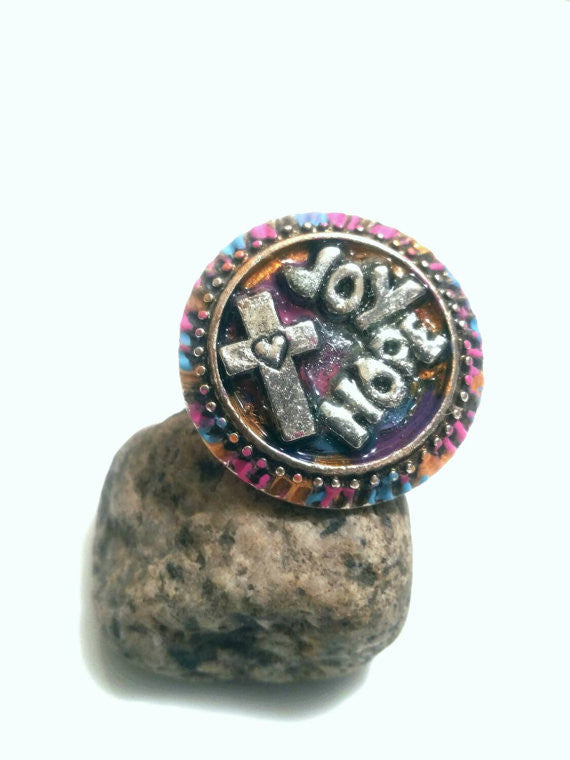 Hope Joy Ring - Inspirational Jewelry
