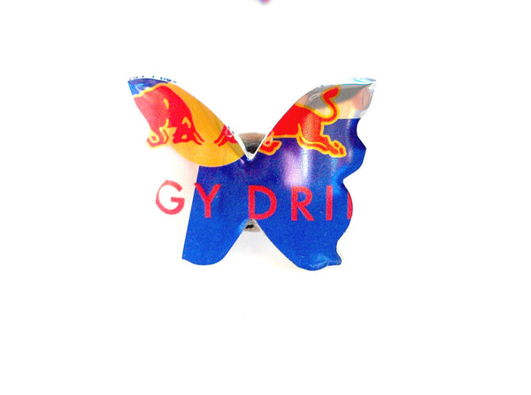 Red Bull Butterfly Ring
