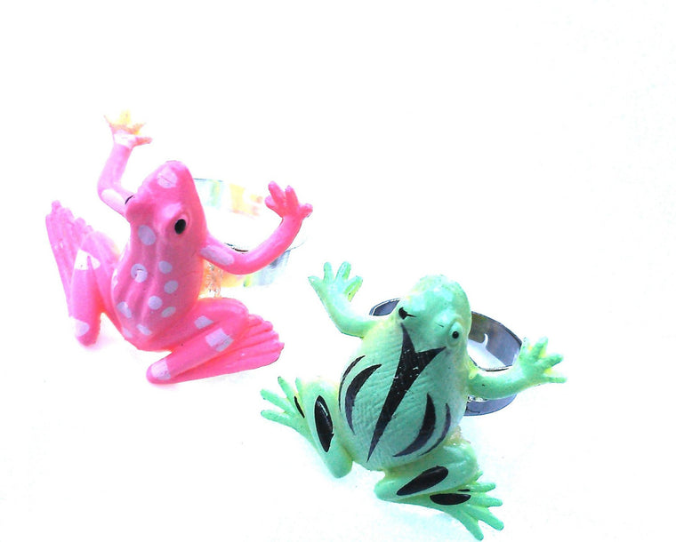 Rubber Frog Ring