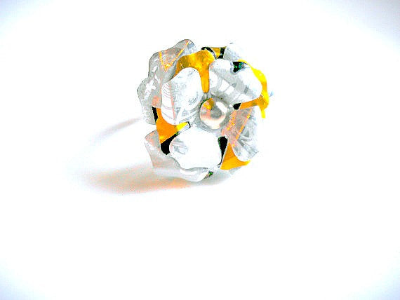 Rockstar Energy Flower Ring
