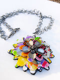 Colorful Arizona Large Pendant Necklace
