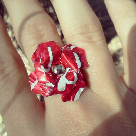 Coca Cola Flower Ring