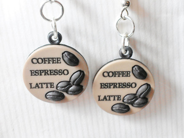 Coffee Lover Earrings