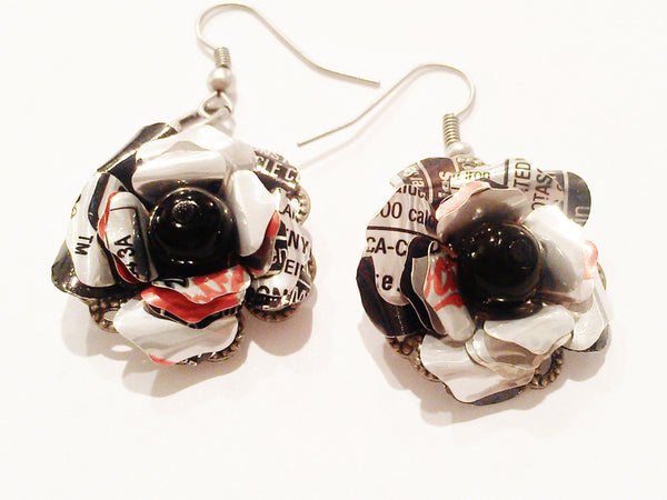 Diet Coke Earrings -  Coca Cola