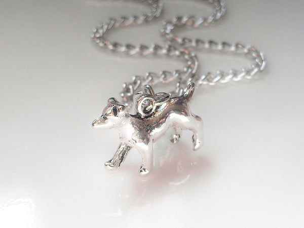 Dog Charm Necklace