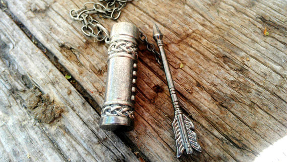 Arrow and Quiver Necklace